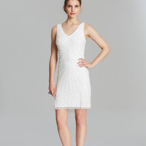 Adrianna Papell IVORY SIZE 8 #337 NWT